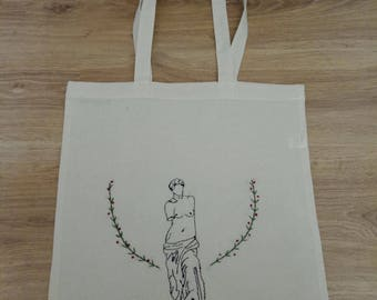 Embroidered-Tote Bag Venus de Milo