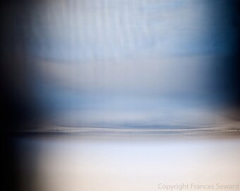 Number 147, Fine Art Photo., Giclee, Museum paper, blue, horizon photo, minimalist photo, surreal photo, abstract landscape, zen photo, art