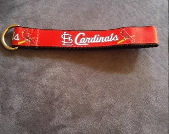 St. Louis Cardinals inspired keychain