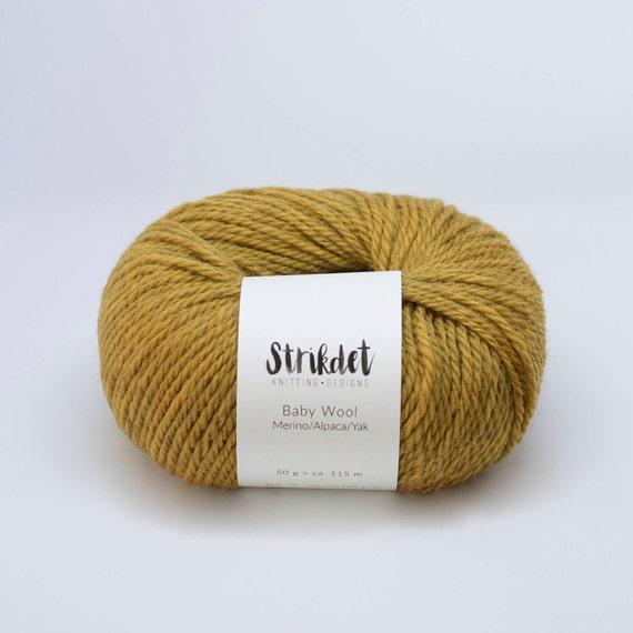 STRIKDET Baby Wool - curry