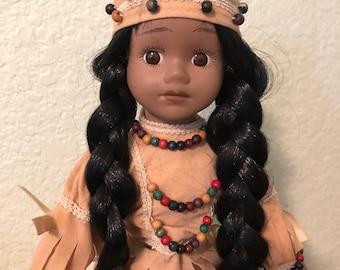 House if Lloyd Indian Doll