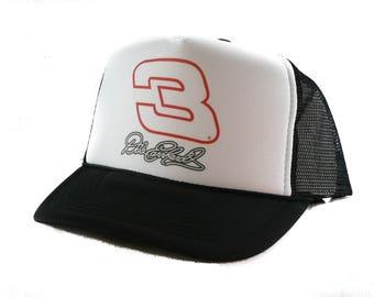 Dale Earnhardt #3 nascar hat Trucker Hat mesh hat snapback New