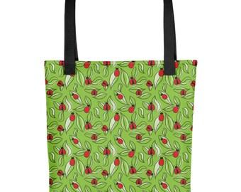 Ladybug Tote bag - Bug Bag - lady bug bag - Insect Bag
