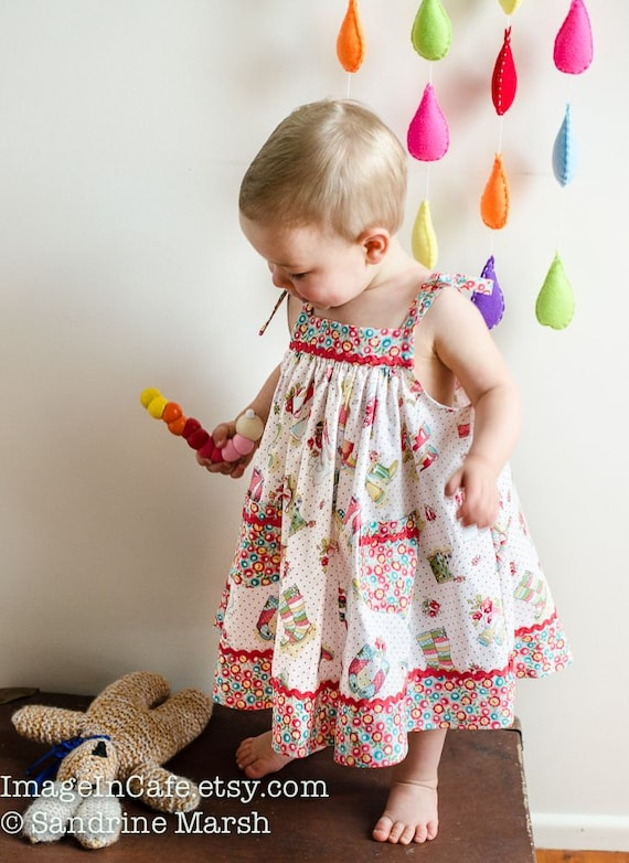 Girls Dress Sewing Pattern Daisy Sundress Girls Sundress Pdf