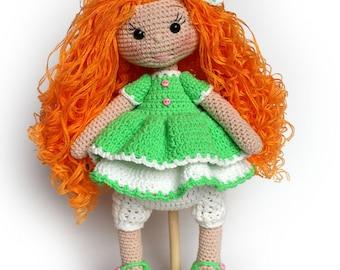Reddy Crochet Doll Pattern PDF Amigurumi Doll Pattern Amigurumi Crochet Pattern Knitting pattern