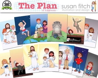 The Plan of Happiness Printables