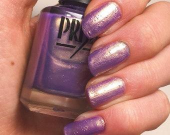 Wisteria- Purple Gold Duochrome Chromashift Handmade Indie Nail Polish