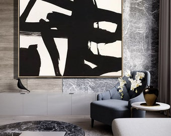 Black and White Art, Painting Abstract, Abstract Painting, Abstract Artwork Painting, Large abstract canvas art, Oil Wall Art, Wall Decor