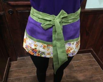 Waitress/Utility Three Pocket Apron