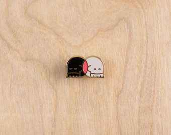 Two Sides Pin