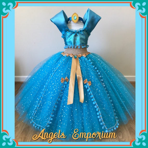 Aladdin Princess Jasmine Tutu Dress