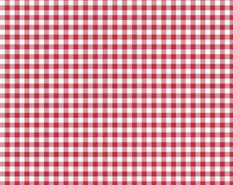 NEW! Bake Sale 2 Fabric - Lori Holt for Riley Blake Designs -Gingham-Red