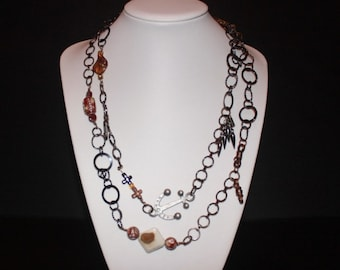 Rustic Chain Necklace