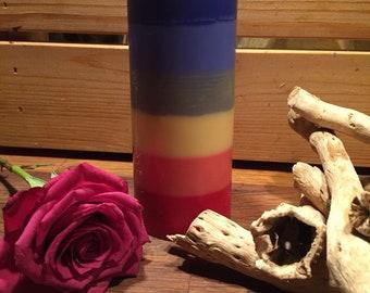 7 chakras candels 100% naturel