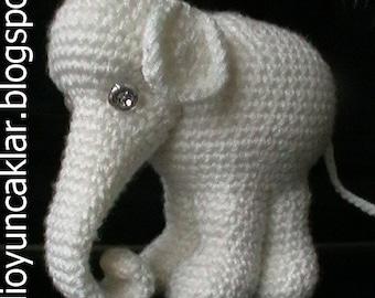 Amigurumi White Elephant Pattern