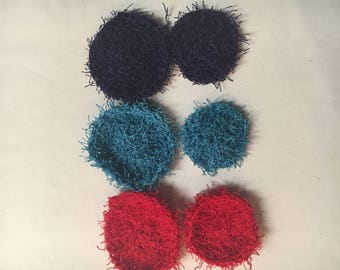 Face Scrubbies, Exfoliating Face Scrubbies, Make-up remover Scrubbies