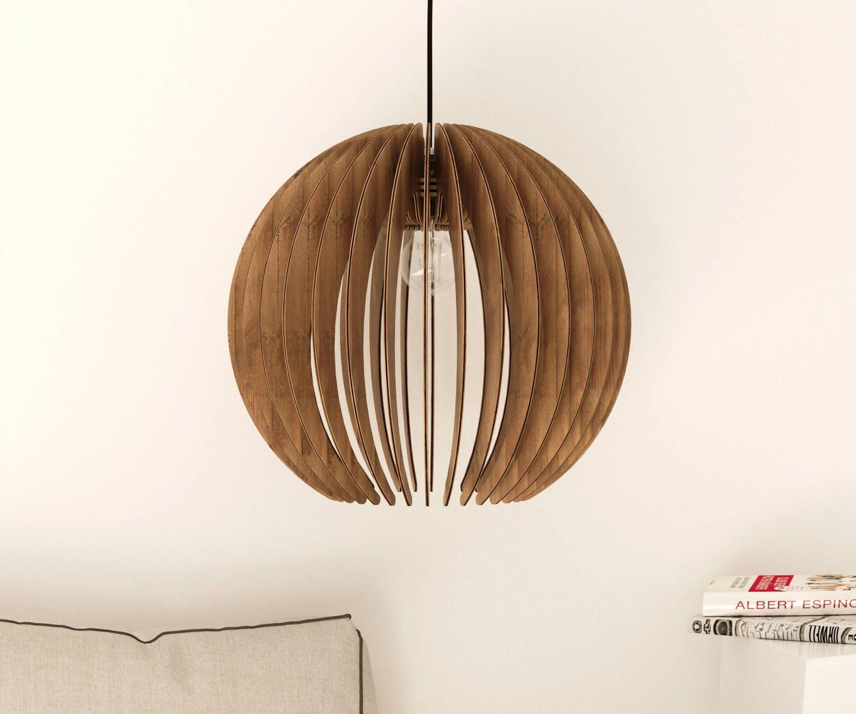 Holz Anhänger Licht moderner Kronleuchter Beleuchtung