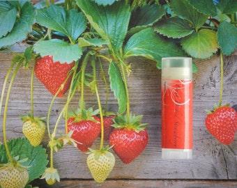 Strawberry Lip Balm - Fresh Picked Strawberry