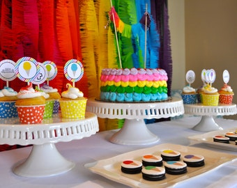 Rainbow Birthday Party, Ice Cream Birthday Party, Ice Cream Party, Ice Cream Birthday, Rainbow Birthday, Rainbow, Ice Cream, Sweets