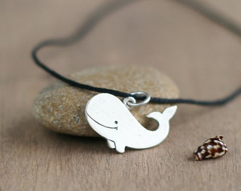 Whale necklace, Whale, Whale art, Silver jewellery, Animal jewelry