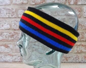 Ski Winter Conte of florence headband headband Retro Vintage Approx.46cm x 8cm