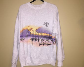 Vintage Boston Harbor Sweatshirt