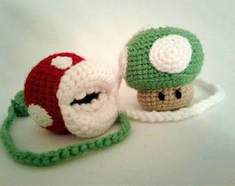 Nerdy Crochet Super Mario Inspired Poi