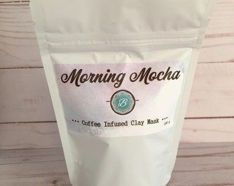 Morning Mocha Coffee Infused Clay Mask