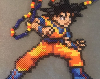 Goku perler necklace (shipping included)