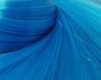 NEW! Electric Ave Cobalt Blue Nylon Doll Hair Hank for Rerooting Barbie® Monster High® Ever After High® MLP Fashion Royalty Disney