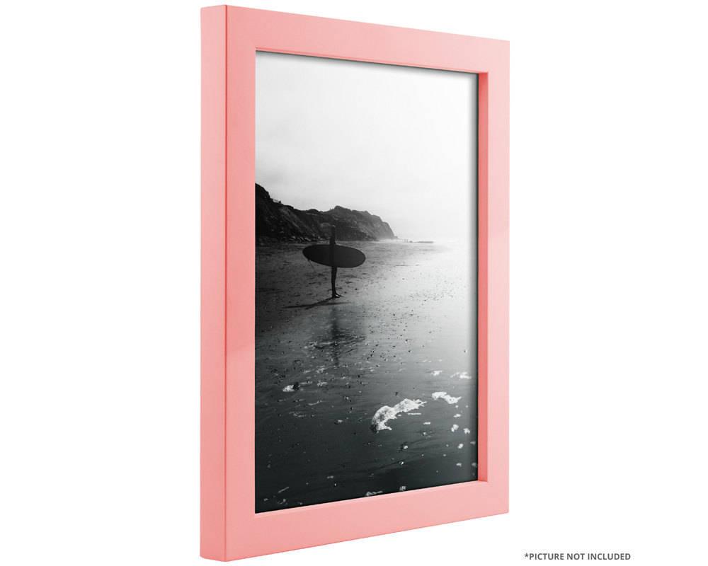 Craig Frames, 8x12 Inch Modern Light Pink Picture Frame, Confetti ...