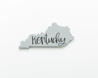 KY | Kentucky Wood Wall Art