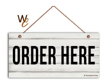 Well known Order here sign | Etsy DJ35