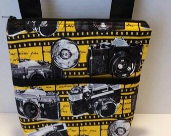 Vintage Camera Crossbody Bag