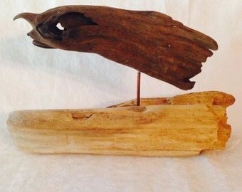 Rising From The Sea Driftwood Art