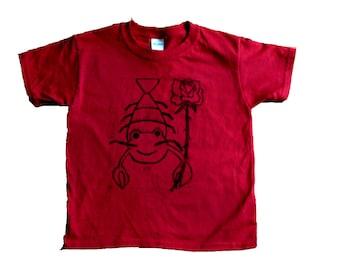 Linocut Lobster Shirt
