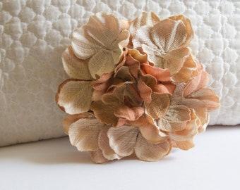 Carnelian Crystal Hair Flower Clip