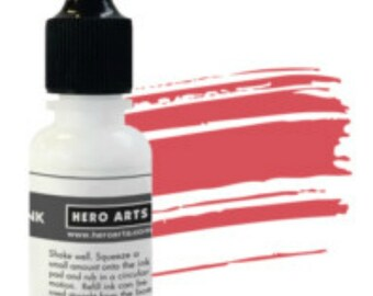Hero Arts Strawberry reinker NK334, ink, RETIRED stamping, papercrafting, mixed media, scrapbook, a2z scrapbooking