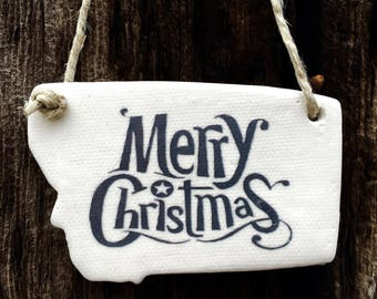 Montana Christmas Ornaments, Montana Gifts, Made in Montana, Montana Ornaments, Montana Christmas, Simple Christmas Ornaments, Big Sky Gifts