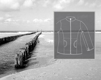 Farbenmix-Pattern Pellworm Fleece Jacket