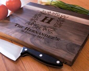 Personalized Cutting Board,Custom cutting board, Engraved cutting board, housewarming gifts, wedding gift, Christmas gift