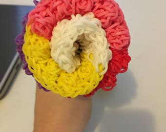 Rainbow Loom Rose