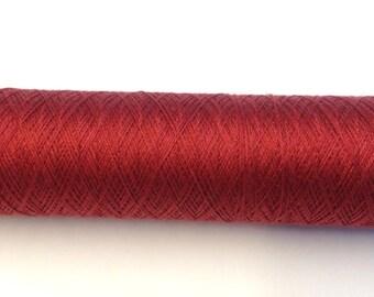 Tudor Style Silk Thread for Renaissance/Elizabethan Reenactment - Deep Red