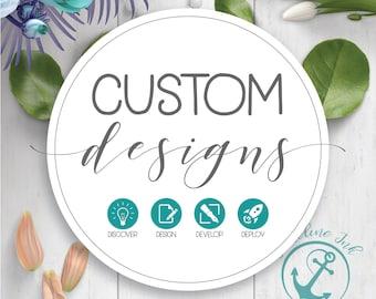 Custom Design Fee   Imagine   Develop   Create