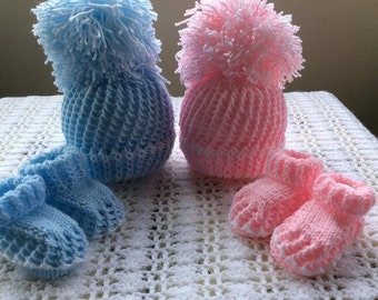 HIS & HERS baby knitting pattern