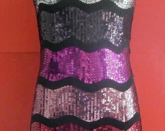 Saturated in SEQUINS Multi-Jeweled Perfect Party Dress reduced 20 percent