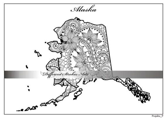 en este tipo de mapamundi se. printable alaska county map unlabeled ...