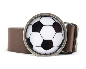 Soccer Ball Belt Buckle, Sport belt buckle