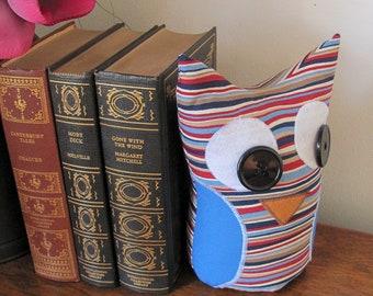 Fabric Door Stop / Fabric Bookend / Door Stop / Bookend / Home Decor -Stripe