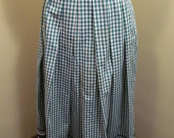Vintage long dirndl oktoberfest  skirt